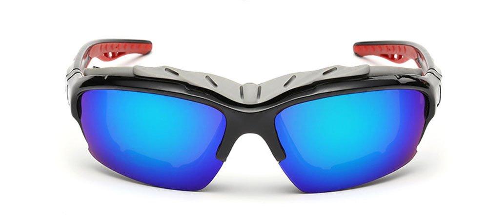 1 x Unisex Sonnenbrillen - New Stil Gläser / Staubdichtes Gläser / Mode und Classy / UV400 Schutz / Windundurchlässige Sport brillen für Skilauf / Fischen / Fahren / Camping / Fahrrad / Laufen / Bergsteigen