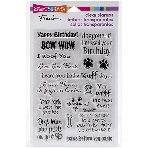 - Stampedous SSC1223 STAMPENDOUS Clear Stamps, Dog Sayings