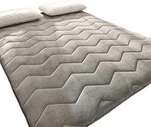 暖かい ぬいぐるみ マットレストッパー ベッド パッド, とろみ 通気性 畳敷き 布団 1 ツインサイズ パッドを睡眠 食品-B 150x200x4cm