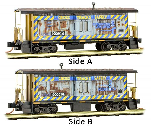 Micro-Trains MTL N-Scale Bay Window Caboose CSX/Operation for sale  Delivered anywhere in USA