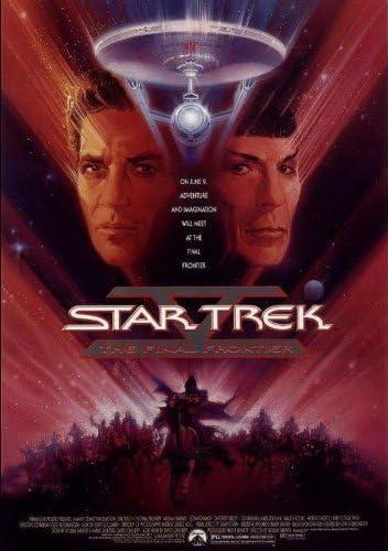 "SK-44* STAR TREK-THE FINAL FRONTIER-POSTER ON POSTCARD-1999--4/""X6/""-"