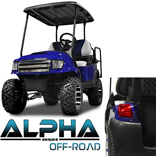 Club Car Precedent ALPHA Off-Road Body Kit in Blue (Fits 2004-Up) -