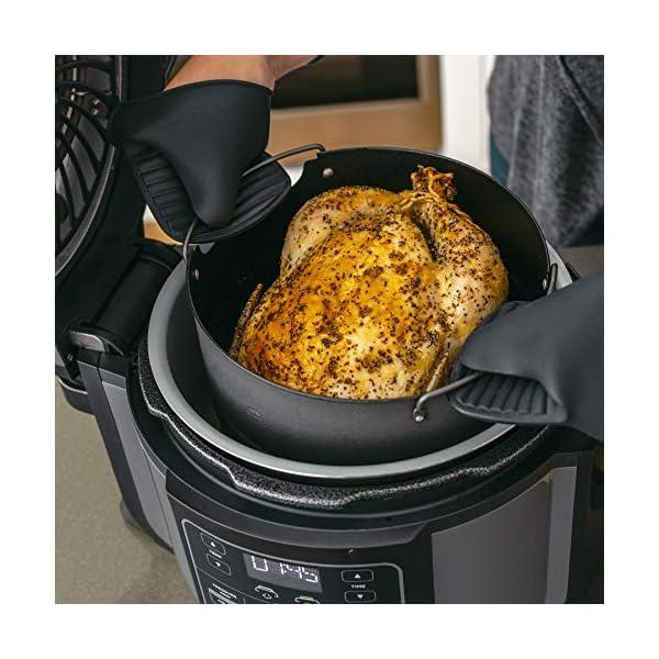 Ninja Foodi TenderCrisp Pressure Cooker, Black OP300 6