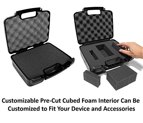 Amazon.com: Discreet Hard Carry Case Box - Fits Magic Flight Launch Box , Finishing Grinder , Trays , Battery , Stem , Charger , Adapter and More: Health ...