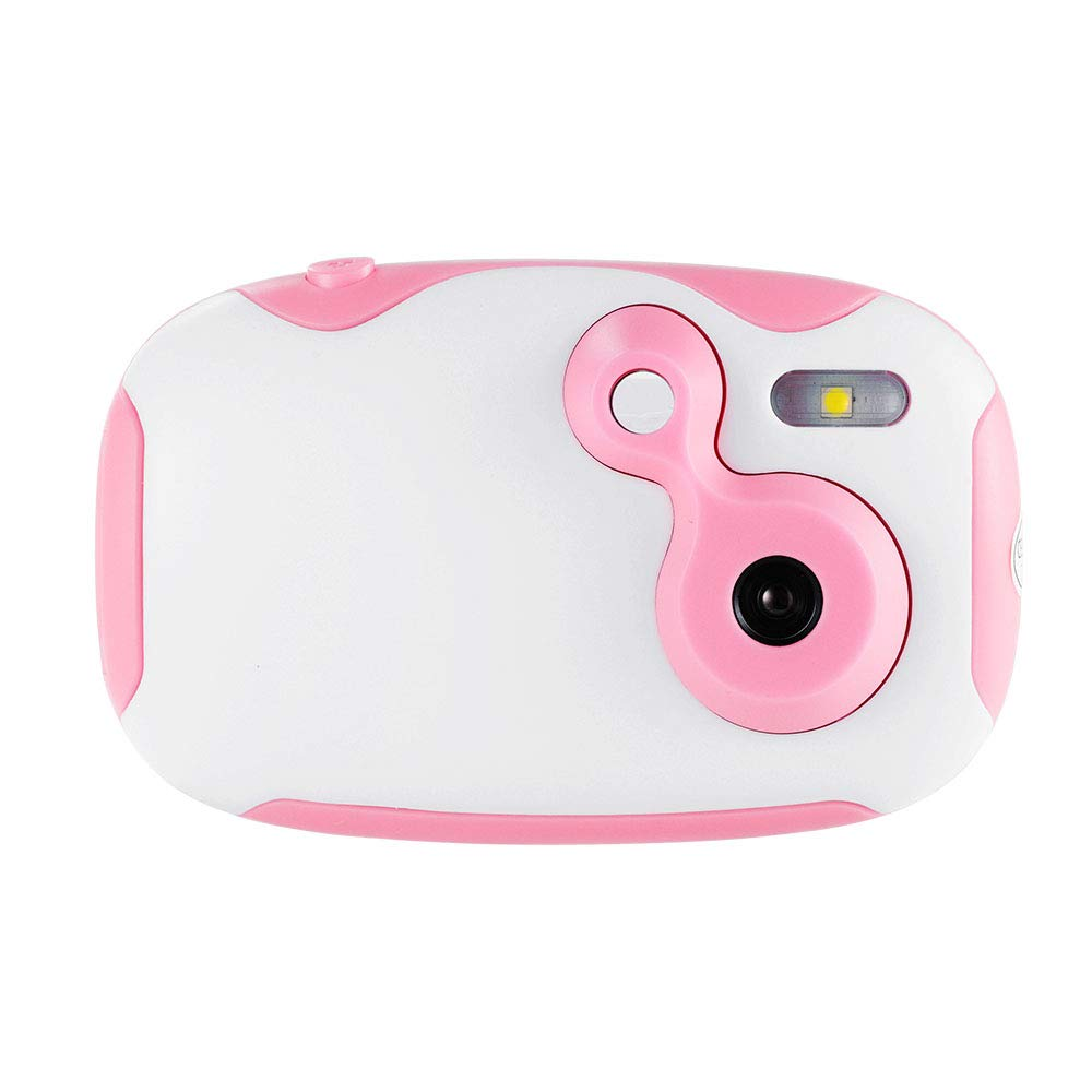 XCSOURCE Toy Camera Mini 1.44 inch HD Screen Display USB Rechargebale Creative DIY Pink Camera with Portable Lanyard for Kids, Children, Girls BB033