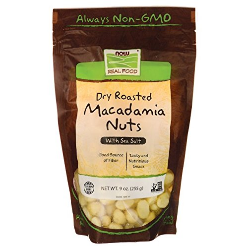 Macadamia Nuts Roasted and Salted Now Foods 9 oz Bag Macadamia Nut