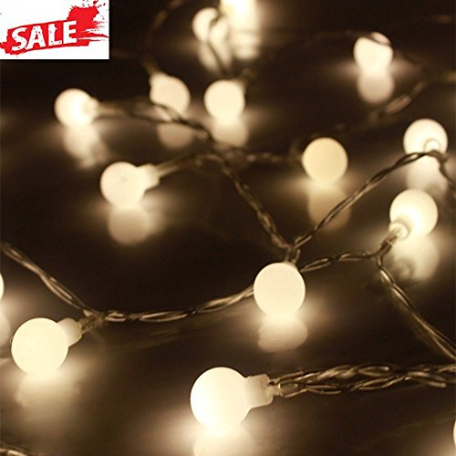 10M 100 Led String Fairy Lights In Warm White - 9