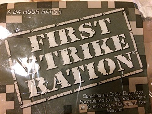 FIRST STRIKE RATIONS (MRE X 3) ()