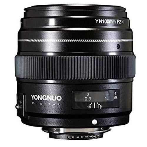 Artek YONGNUO 100mm F2N 1:2 AF MF Large Aperture Auto Prime Focus Lens for Nikon DSLR Cameras
