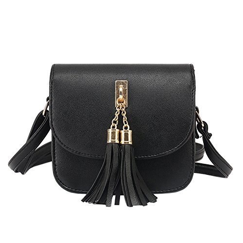 B Bag Cross Women Fashion Candy Bags Chains Body Shoulder Women Color Female Handbag Black Tassel Bag Small Minetom Messenger Handbags Bag HqUwxdtt