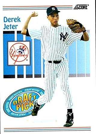 Amazon 1993 Score Rookie Card 489 Derek Jeter M Mint