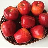 calcifer® Lot de 10fruits artificielles/Rouge Pommes Artificielles Pour Mariage Maison Jardin Décoration