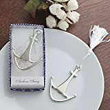KateMelon Nautical Wedding Collection, Anchors Away Bottle Opener Favor, Set of 48