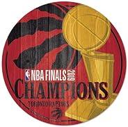 Toronto Raptors - 2019 NBA Champions Wood Club Sign