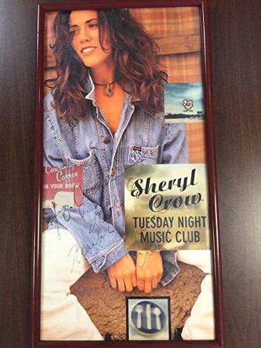 Sheryl Crow Original Autograph Playbill Poster Tuesday Night Music Club