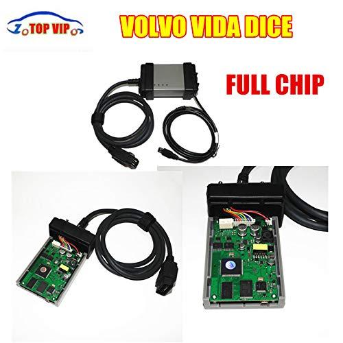 LKCAUTO Tech Discount Price 2017 Outstanding Green PCB Board Newest 2014D Full Chip Auto Diagnostic Tool Vida Dice VOL-VO