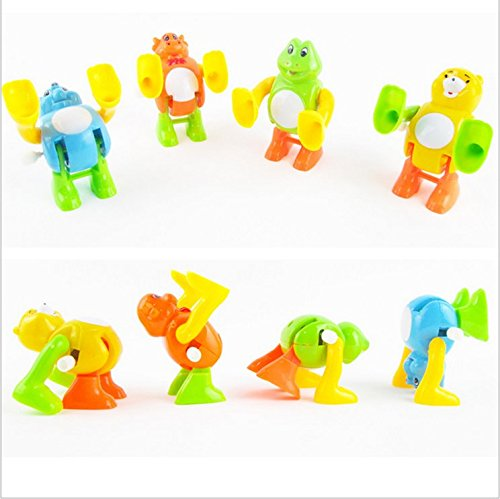 8pcs supply chain somersaults somersaults on the toy chain Toys Clockwork small animals
