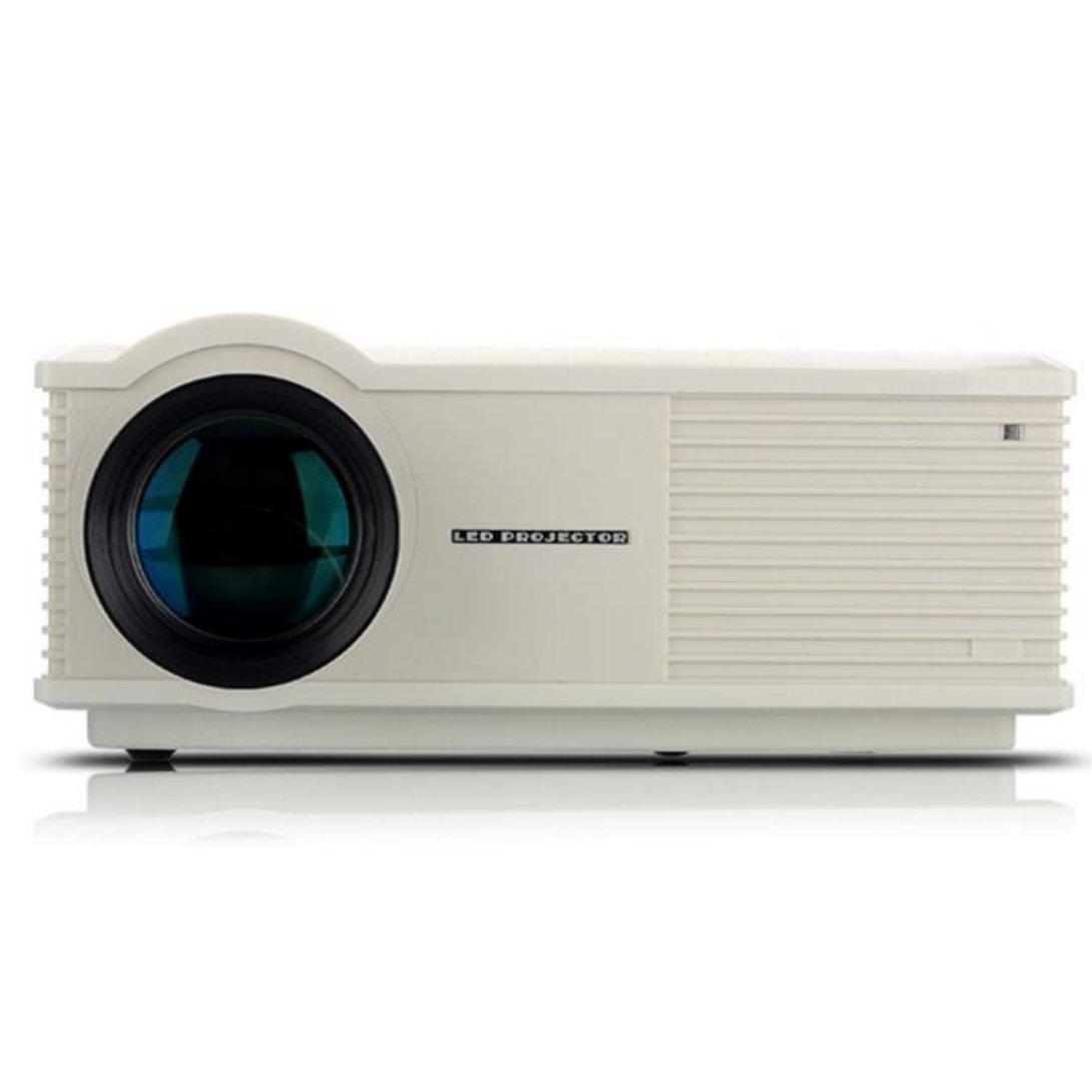 Wensltd LCD Projector HDMI AV USB VGA 1280x800 Home Cinema (White)