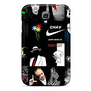 Excellent Design Black Case Cover For Galaxy S4