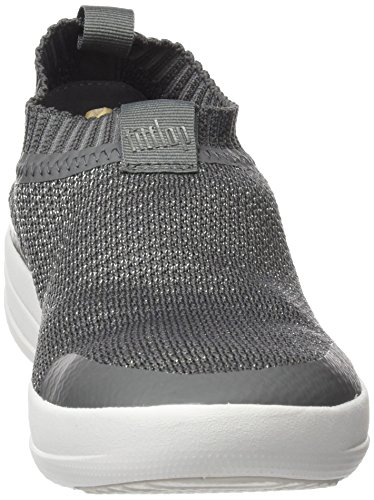 EU Pewter Charcoal Metallic 3 Trainers Metallic UK 551 on Uberknit Fitflop Slip Multicolour Sneakers Women 36 nSvqz78Z