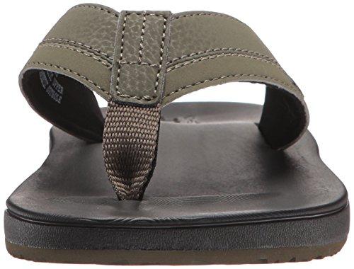 Black Olive Cushion Sandal Men's Reef Contoured qpFIwOZ7Z