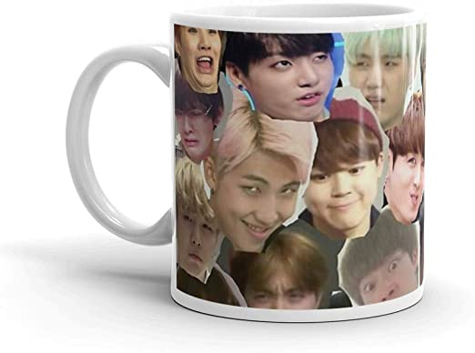 Amazon Com Tyna Ho Bts Meme Face Collage Suitable For Hot And