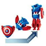 Marvel Disk Wars : The Avengers : Disk Change : Captain america by Bandai