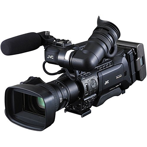 JVC GY-HM850U ProHD Compact Shoulder Mount Camera with Fujinon 20x Lens (International Model) by JVC