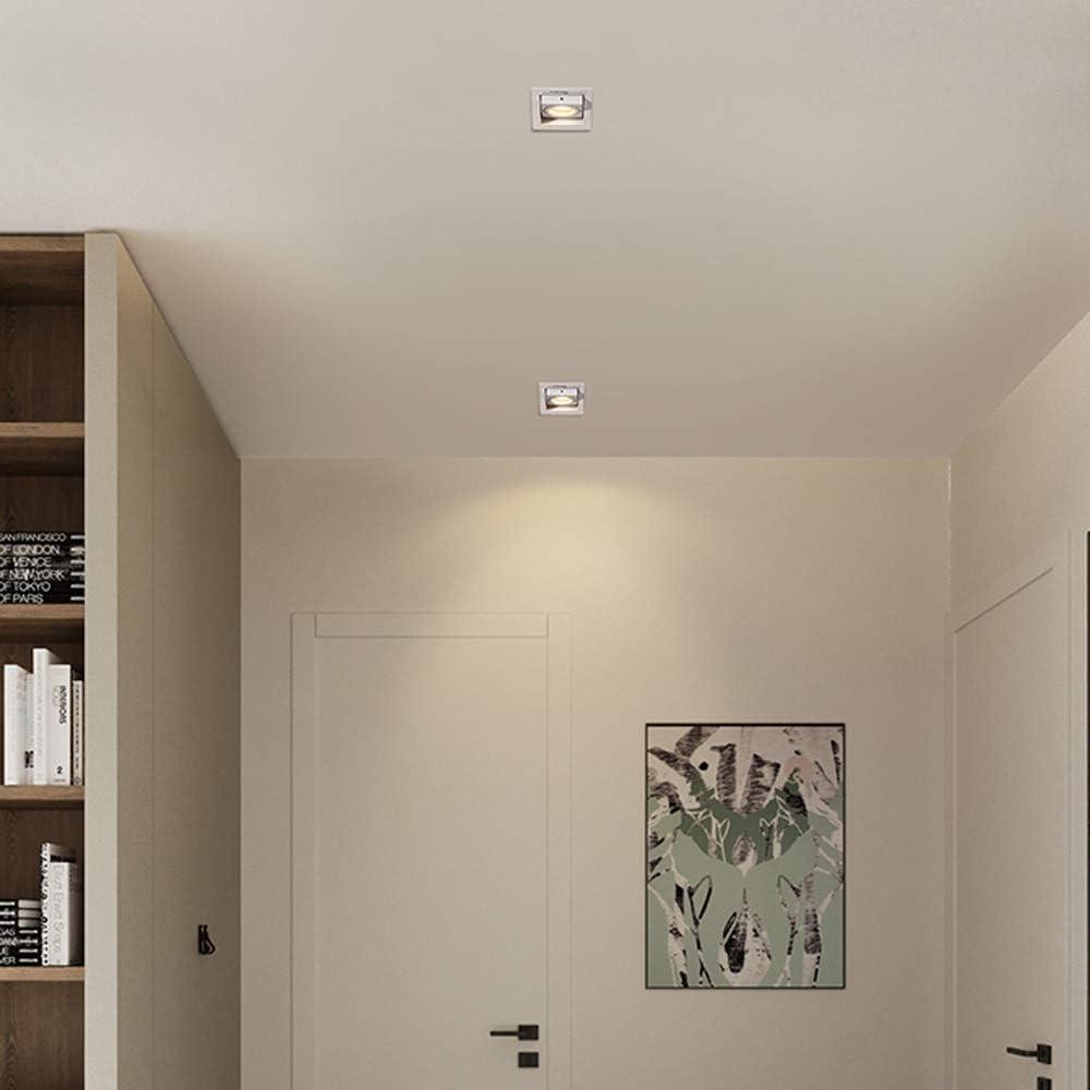 Spotlight Voor Woonkamer Cob Spotlight Indoor Decoration Embedded Downlight Draaibaar Led Wall Ceiling Panel Light Neutral