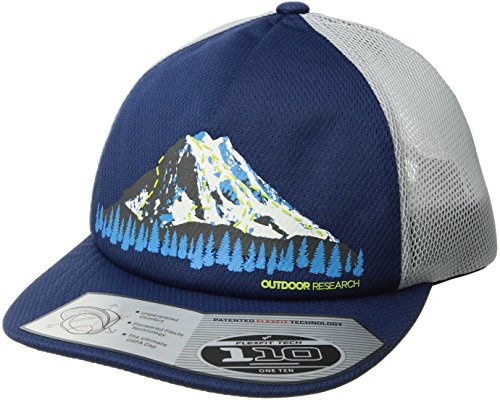 (Outdoor Research Performance Trucker trail run Hat, Baltic, 1size)