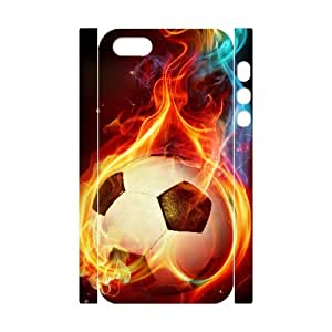 D-PAFD Cell phone Protection Cover 3D Case Football For Iphone 5,5S