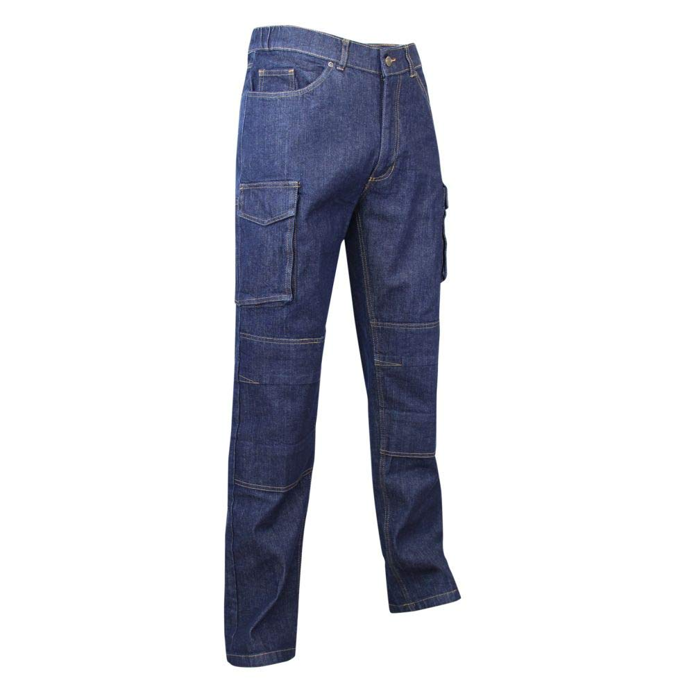 LMA 146700 Stretch WORK Jeans Extensible Multipoches Denim Taille 56