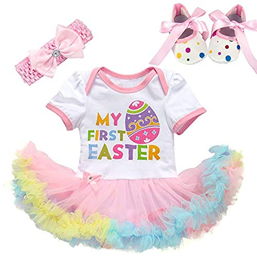 Fairy Baby 3Pcs Newborn Baby Girl Easter Outfit