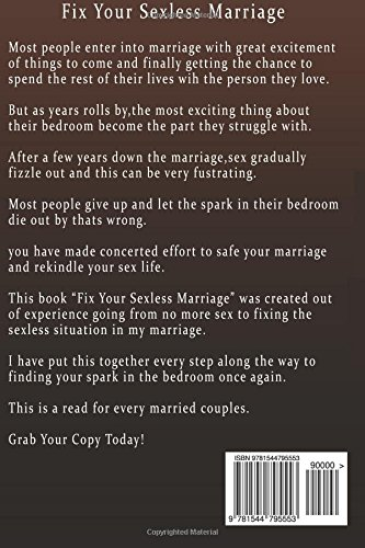 How to fix your sexless marriage