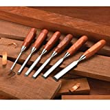 WoodRiver 6 Piece Bench Chisel Set