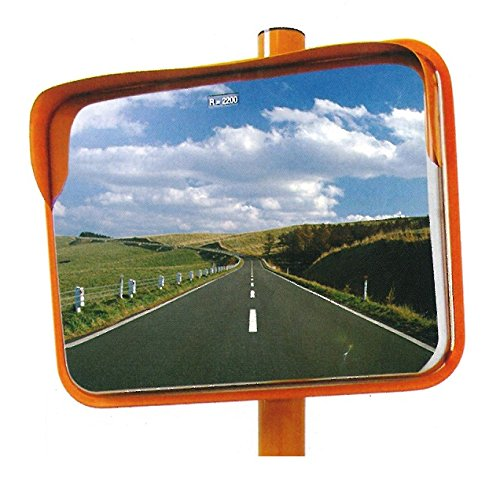 ステンレスカーブミラー 角型 450×600mm 道路反射鏡 設置基準合格品 B00AIG9RI2