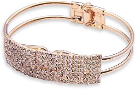 Andruscha Damen Kette Armband Armkette Choker Armreifen R617