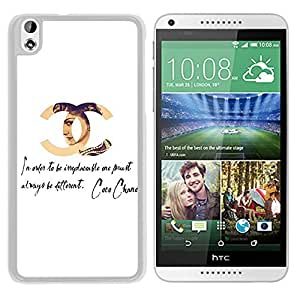 Coco Chanel (2) Durable High Quality HTC Desire 816 Phone Case