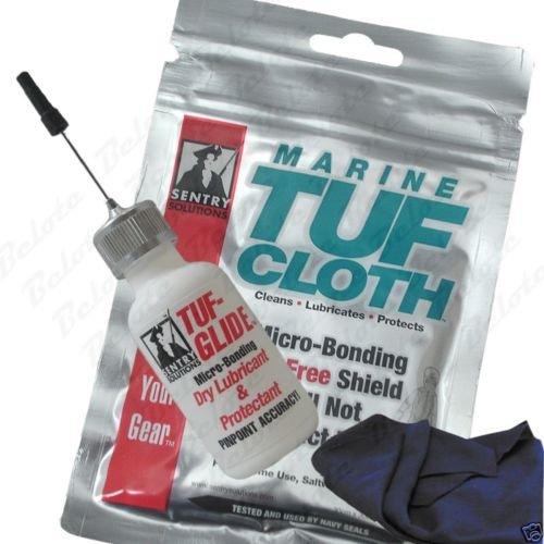 (Sentry Solutions TUF-GLIDE & MARINE TUF-CLOTH Set)