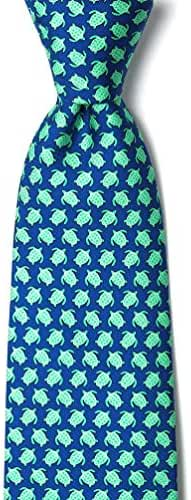 Micro Sea Turtles Tie By Alynn Novelty In Silk
