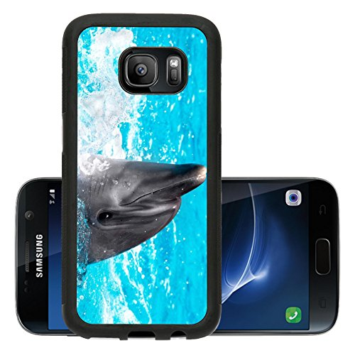 liili-premium-samsung-galaxy-s7-aluminum-backplate-bumper-snap-case-glad-beautiful-dolphin-in-blue-w