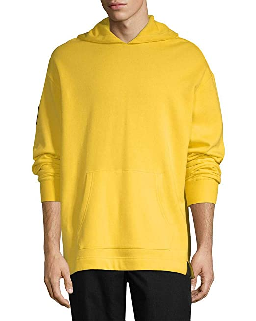 44c73737 PUMA Men's x XO by The Weeknd Oversized Hoodie Cyber Yellow X-Large ...