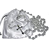 First Holy Communion Rosary Beads - 1st Communion Present - Girls & Boys Gift by Amelia Mae