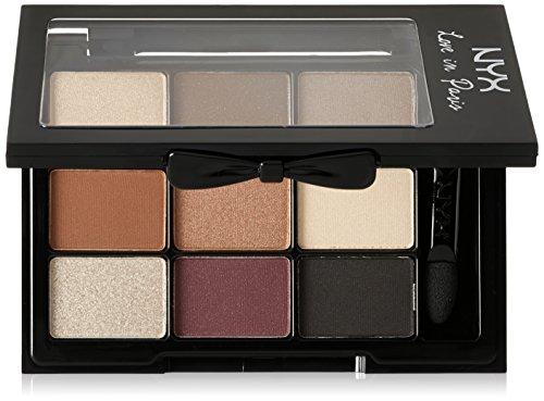 NYX Professional Makeup Love In Paris Eyeshadow Palette Je N