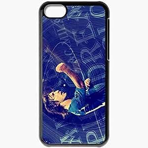 Personalized iPhone 5C Cell phone Case/Cover Skin ANDREA PIRLO Cristiano Ronaldo Football Black