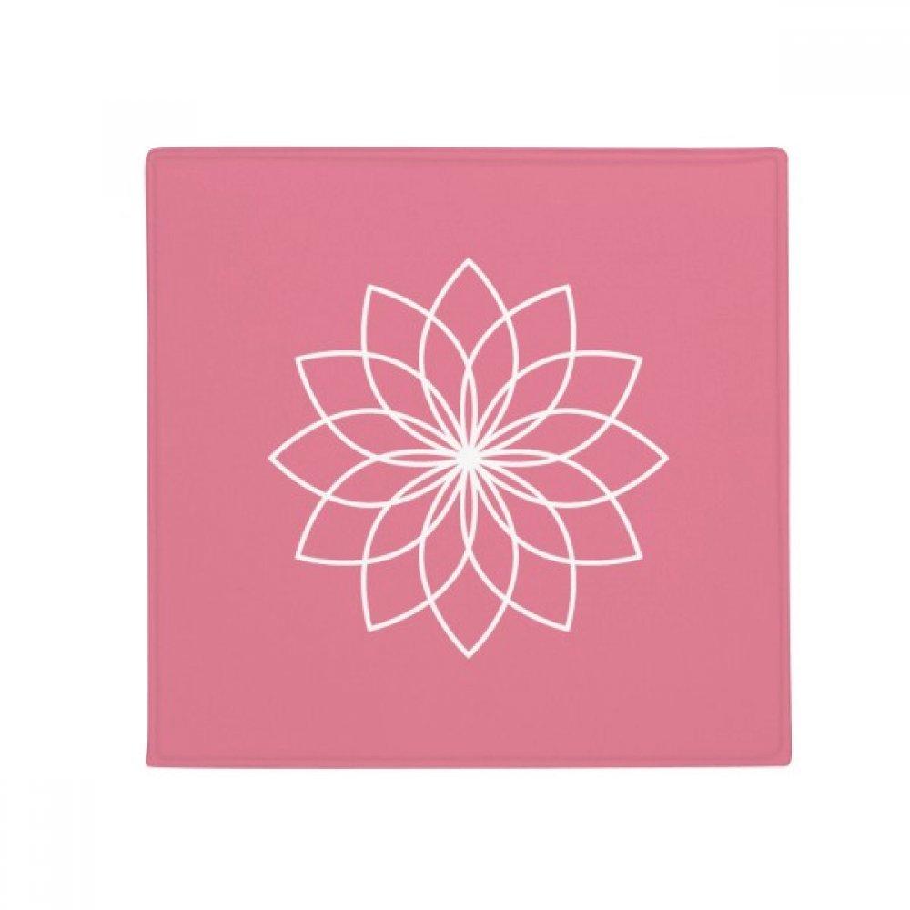 DIYthinker Plant Flower Line Illustration Anti-Slip Floor Pet Mat Square Home Kitchen Door 80Cm Gift