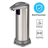 Zipu Automatic Soap Dispenser Touchless Waterproof for Kitchen Deals