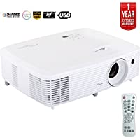 Optoma Ultra Home Cinema Projector w/ DarbeeVision Enhanced Tech HD29Darbee - (Certified Refurbished) + 1 Year Extended Warranty