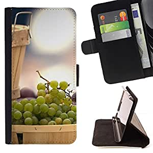 Momo Phone Case / Flip Funda de Cuero Case Cover - Fruta Menta Limón - Samsung Galaxy Core Prime