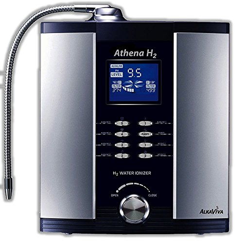 Athena H2 Water Ionizer from AlkaViva. 7-Face, 13-Stage Dual Filter Self-Cleaning. Limited Lifetime Warranty by AlkaViva. Sold By Water1.us shipped by AlkaViva. Relieve Shipping.